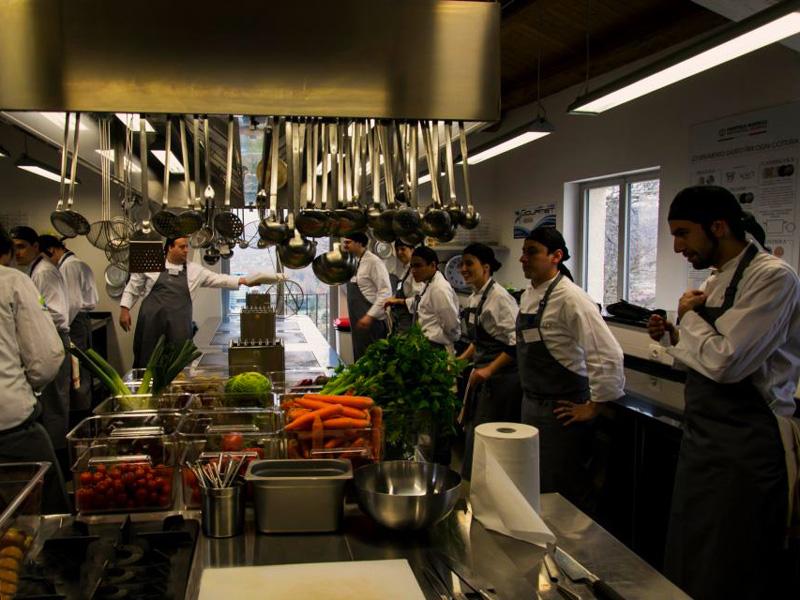 Primo giorno in cucina - Niko Romito Formazione