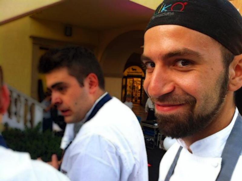 Show cooking con Niko Romito Formazione