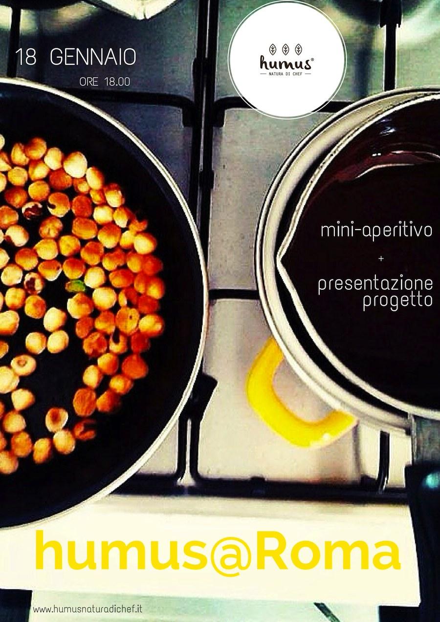 aperitivo humus natura di chef a roma