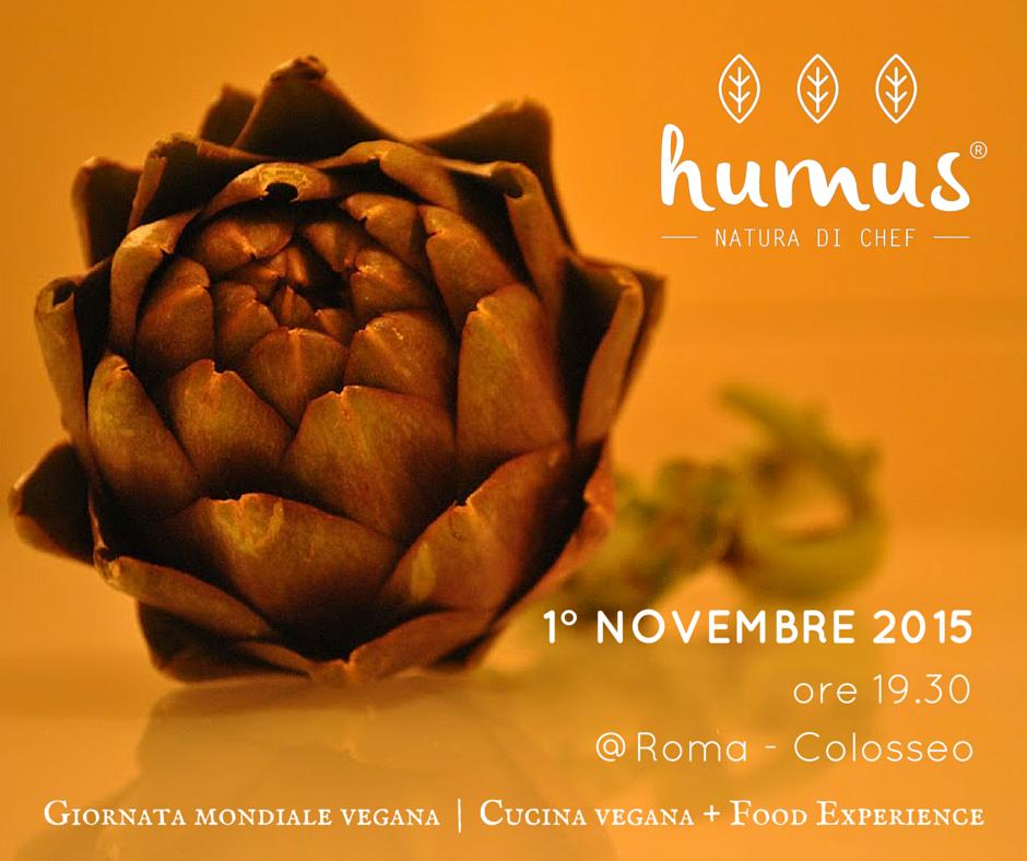roma colosseo giornata vegana 2015 aperitivo