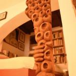 Scultura in legno di Marco Pusceddu