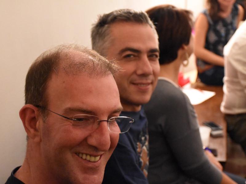Con Nello e Roberto