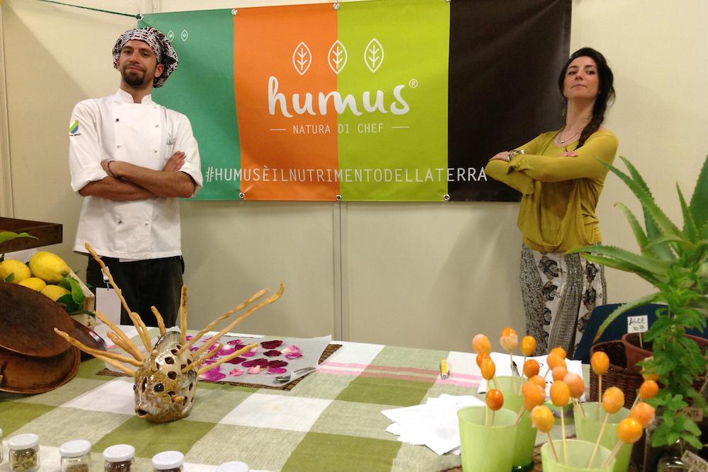 Lo stand di Humus - Natura di chef a Cavaexpo