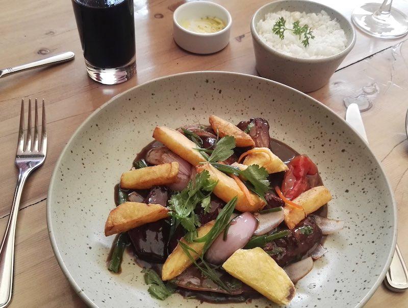 Lomo saltado del ristorante di Gastòn Acurio