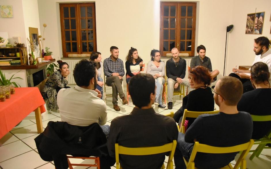 Cena sociale per Halloween a Salerno